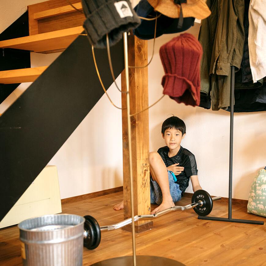 MOPTOP施工事例 西坂家 階段下は子供の隠れ家に♪
