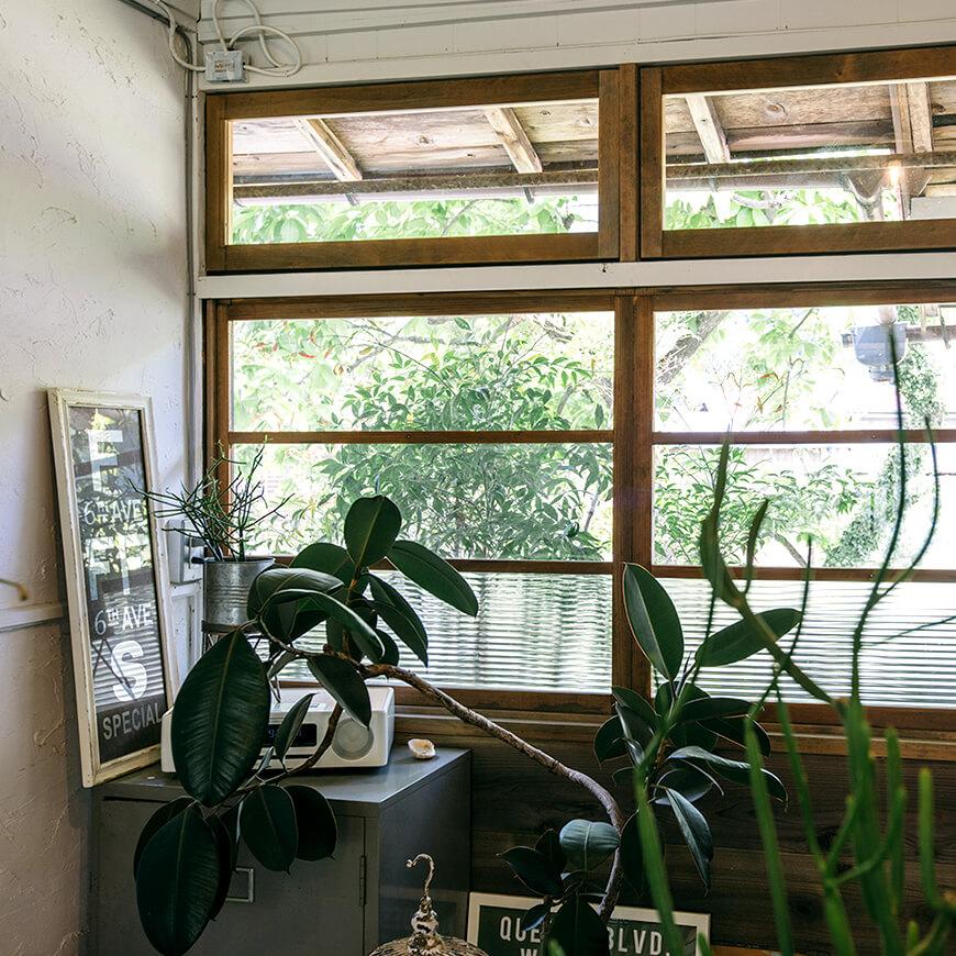 MOPTOP施工事例 POUND 光を取り込む窓
